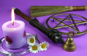 Witchcraft paraphenalia